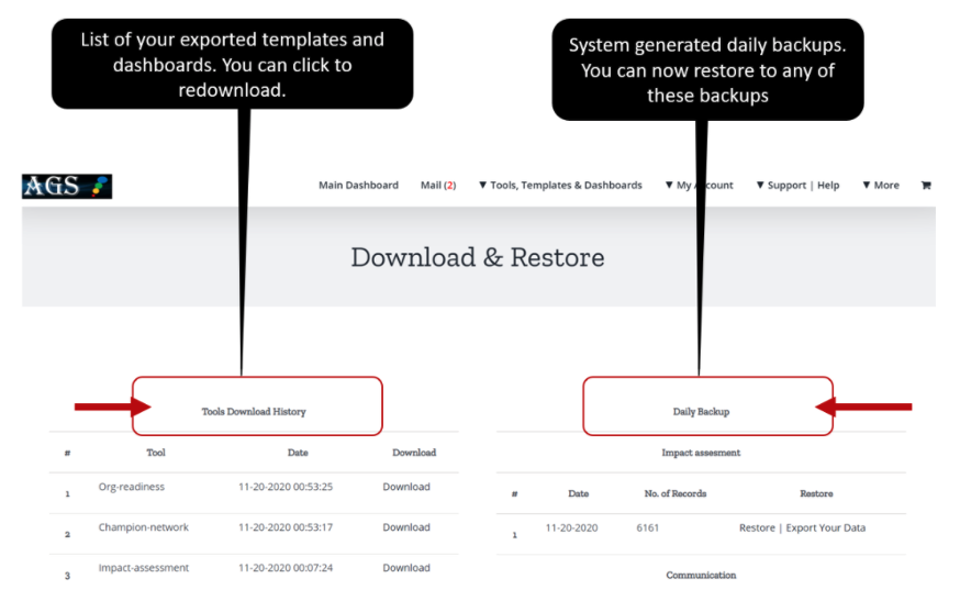 Finding Your Download History & Restoring Your Data from Backups